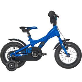 s'cool XXlite 12 alloy Kids, blue/black matt